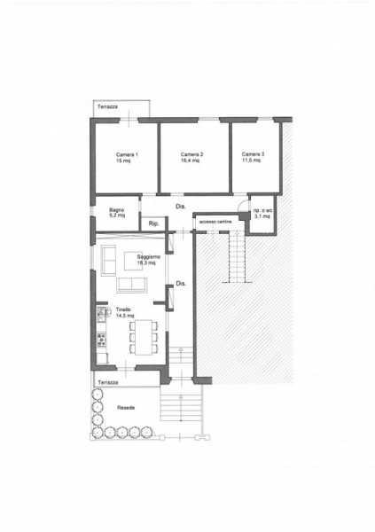 appartamento in affitto a san giovanni valdarno via primo maggio foto2-53912586