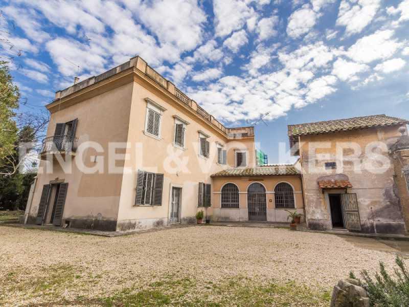 villa roma via del casaletto foto1-74014020