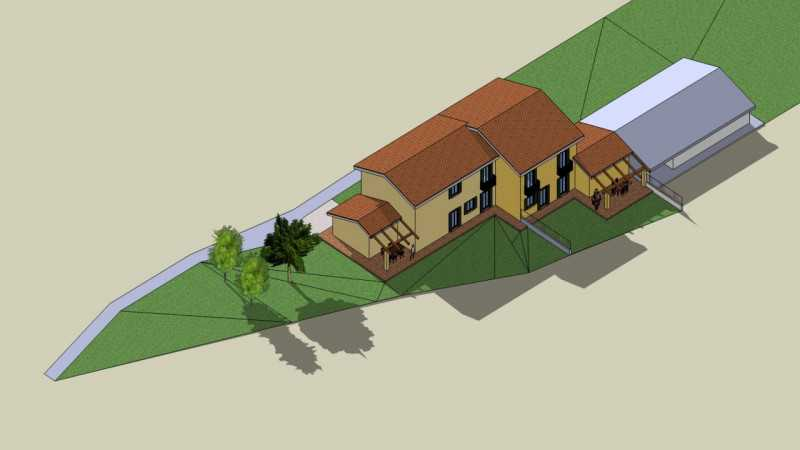villa bifamiliare in vendita a villafranca padovana taggì di sopra foto3-74265363
