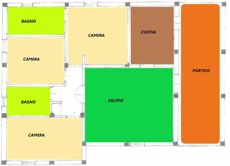rustico casale corte in vendita a soriano nel cimino foto3-94452965