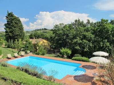 Villa Singola in Vendita a montaione alberi
