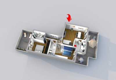Appartamento in Vendita a Macerata Piazza Guglielmo Marconi 4, Villa Potenza