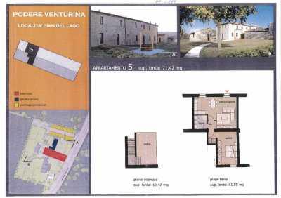 Appartamento in Vendita a Monteriggioni, Santa Colomba
