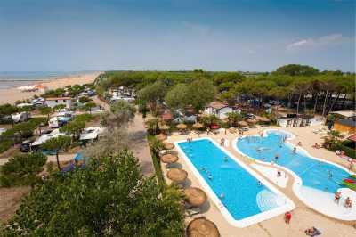 Lodgetent Select con Doccia e wc in Affitto a Cavallino Treporti Riviera Adriatica