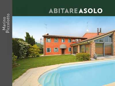 Villa in Vendita ad Asolo via Bosco Pagnano