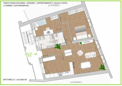 Appartamento in Vendita a Trento via Giulio Catoni 60