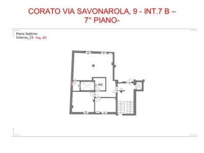 Appartamento in Affitto a Corato via Savonarola Girolamo 9