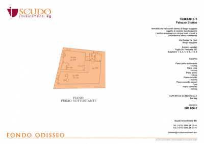 Edificio Stabile Palazzo in Vendita ad Arbus, Borgo Maggiore